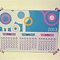 Diy...calendrier trimestriel à imprimer