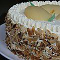 Le poirier, gâteau à la poire et à la crème