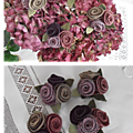 Broches 3 roses
