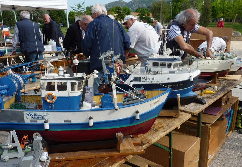 les bateaux de JC , André et Pascal