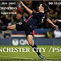 Manchester City ~ PSG