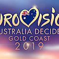 AUSTRALIE 2019 : Trois nouveaux finalistes de la sélection