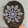 Bun snowflake