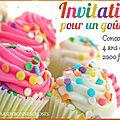 Gâteau au chocolat - crème fraiche fouettée / participation au concours de yas