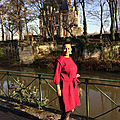 Robe Bordeaux / Burgundy dress