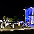 Spectacle son et lumière au château de Pierre-Levée
