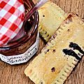 Pop tarts aux myrtilles.