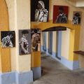 Exposition taurine - arènes de bayonne - août 2010