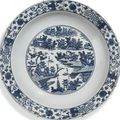 A collection of chinese blue and white. <b>Late</b> <b>Ming</b> <b>dynasty</b>