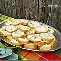 Baguette apéro au jambon, oeuf et cornichons