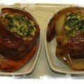 Saint Jacques bacon beurre d'escargots