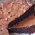 Gâteau au chocolat et aux épices...