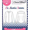 Made in me couture - chemise homme cousu main