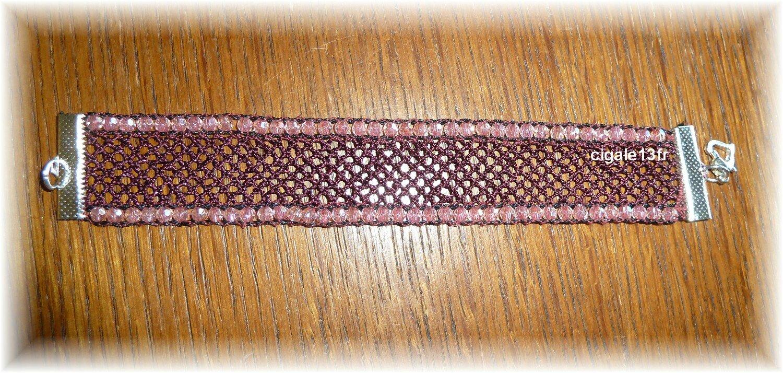 bracelet bordeau