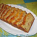 Cake aux poivrons grillés