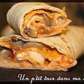P'tits roulés de pizzas: oeufs, champignons et tortillas