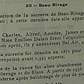Domaines sucriers_Beau Rivage_Frères Montochio_1843