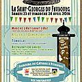 Cette année ,la fête de la ST Georges (Pithiviers) s'enrichira d une rue d exposition pour artistes , artisans.