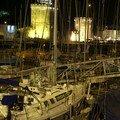 port La Rochelle nuit