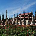 Les sites bouddhiques du lac sagar