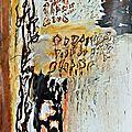 Musee-collection Fusain acryl sur papier 240 x 152cm