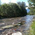 Près de la rivière
