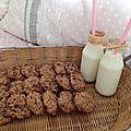 <b>Gluten</b> <b>free</b> oatmeal choc cherries cookies