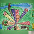 Expo d' art à l'école