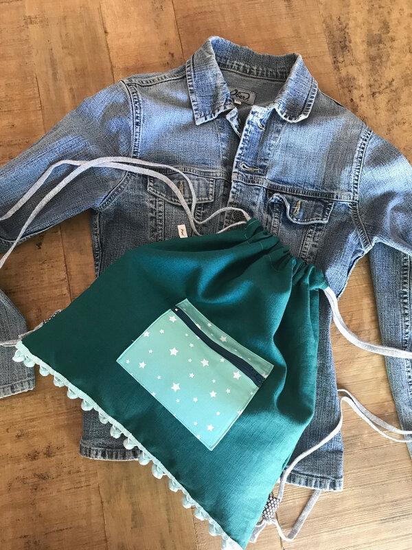 sac a dos vert d'eau 3