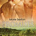 Promises (coda books #1) by marie sexton (m/m)