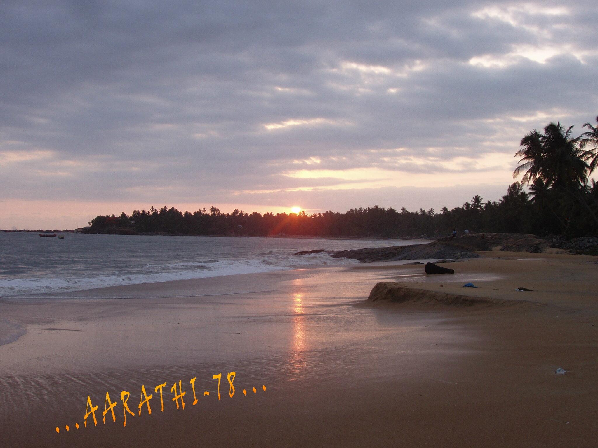 Sunset @ Thalayyi Beach - Tellicherry