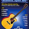 Acoustic Open Mic en Finistère Sud
