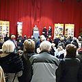 Le public pendant l'inauguration