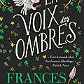 La Voix des Ombres, de Frances Hardinge