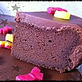 Fondant glacé au chocolat