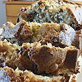 Banana bread aux pépites de chocolat (trop trop bon)