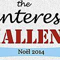 Pinterest challenge : noël 2014