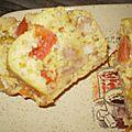 Cake poulet/tomates