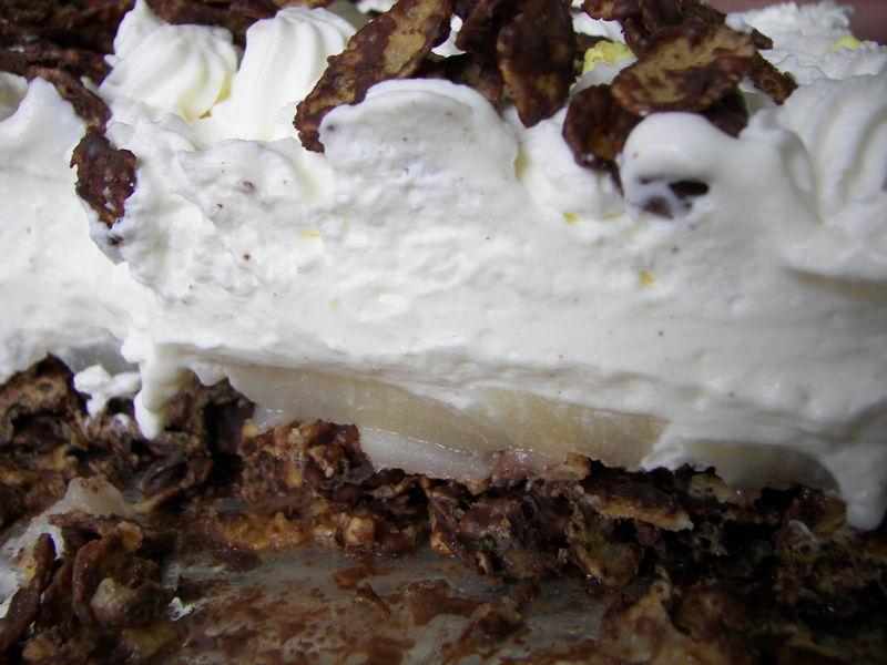 Gâteau poire/chocolat