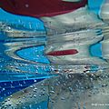 Reflet de piscine (Douarnenez, août 2011)