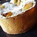 tarte pamplemousse/poire à la crème de pistache