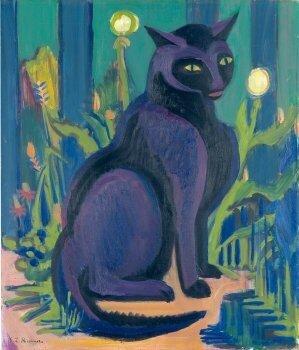 E.L.Kirschner 1924-26 (chat noir)