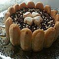 Cheesecake façon charlotte au nutella