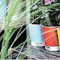 Idée cadeau : vase et pot pantone