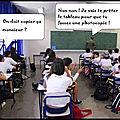 Humour - un élève pas très motivé...