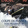 Affiche coupe de france du drac 1996