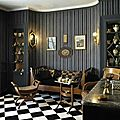 The famous composer <b>Maurice</b> <b>Ravel</b>'s home is a museum. From the Maison Deco magazine.