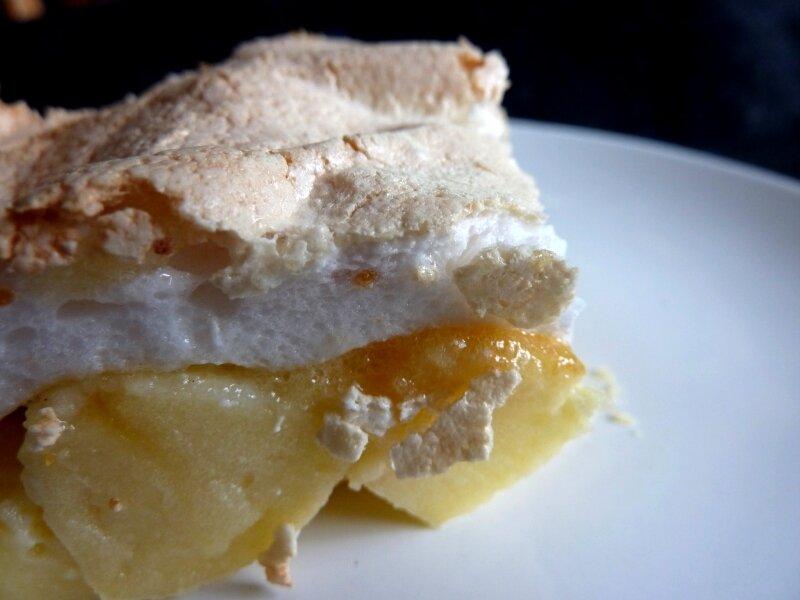 L'irresistible gâteau soufflé d'Hanane mais avec de la meringue