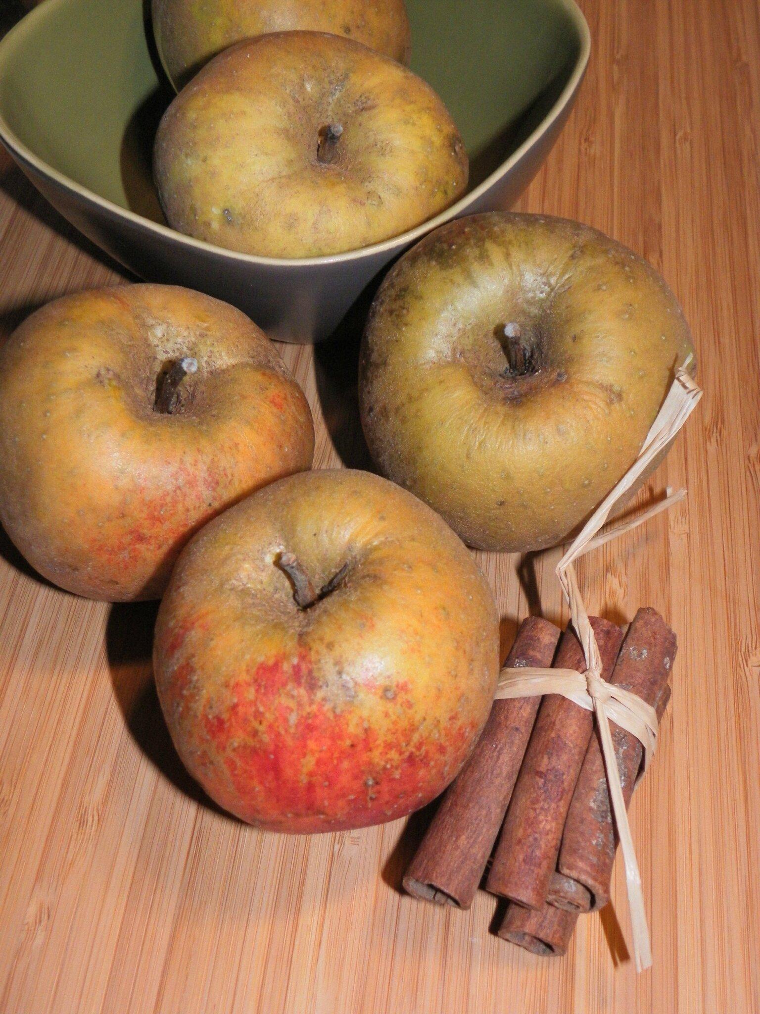 Des pommes au four, simples comme bonjour!