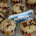 Muffins aux bounty